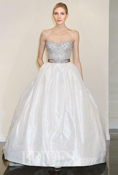 زفاف - Victor Harper Wedding Dresses Spring 2015 Bridal Runway Shows Brides.com