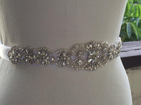 Mariage - Wedding Bridal belt