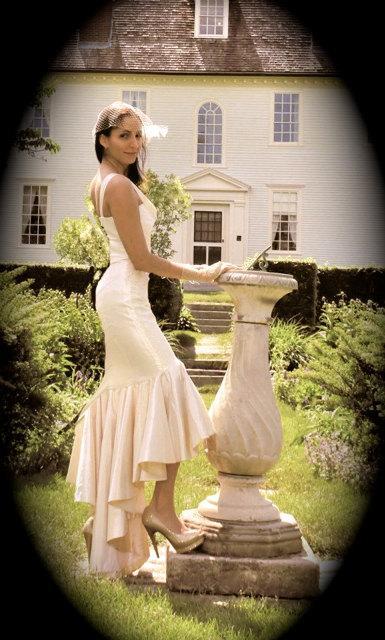 LIZ, Vintage Style Wedding Dress, Hollywood Glam, Mermaid Style ...