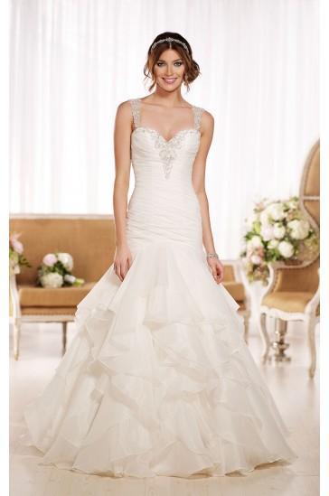 Mariage - Essense of Australia ORGANZA WEDDING DRESS STYLE D1843
