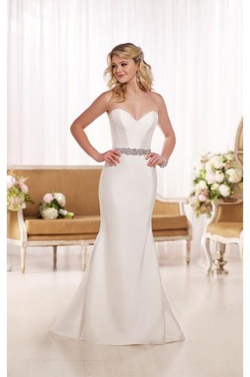 Hochzeit - Essense of Australia A-LINE WEDDING DRESS STYLE D1744