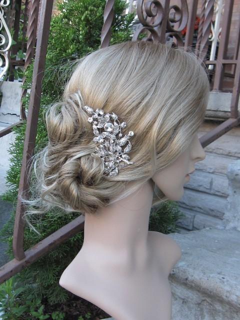 Mariage - Bridal hair comb wedding comb bridal hair jewelry wedding hair comb bridal hair accessory wedding headpiece bridal comb wedding accessory