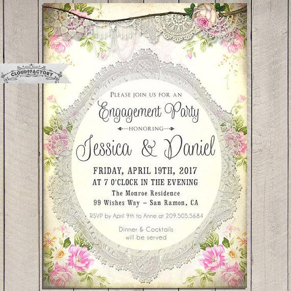Vintage Wedding Invitations Etsy is awesome invitations layout
