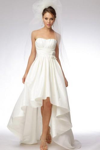 Свадьба - Figure-Flattering Ball Gown Sweetheart Taffeta Bridal Casual Wedding Dress