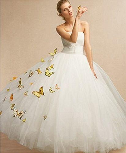 Украсить свадебное платье своими руками фото
