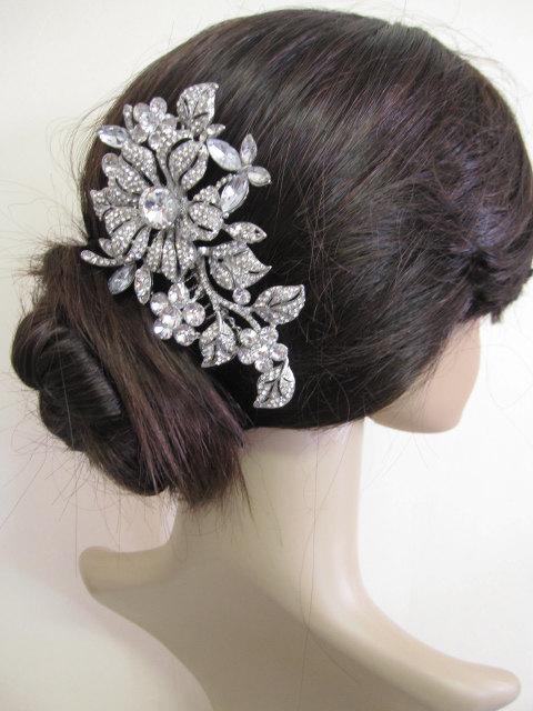 Свадьба - Bridal hair comb wedding hair accessory bridal hair jewelry wedding headpiece bridal comb wedding hair comb bridal jewelry wedding accessory