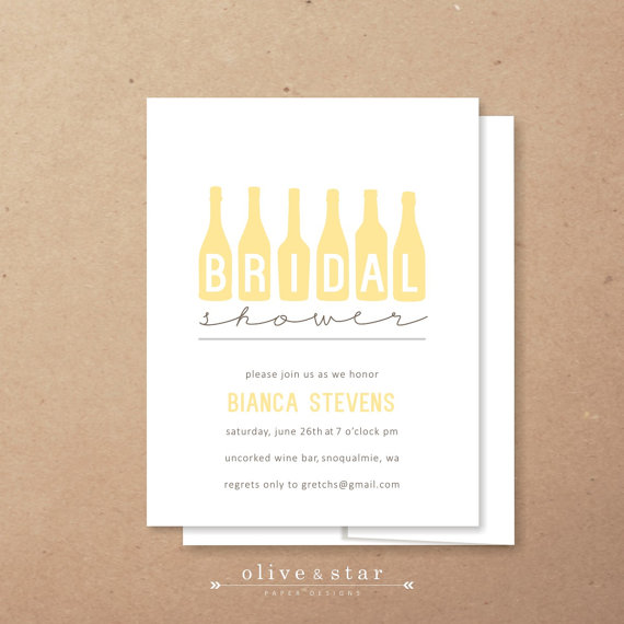 Mariage - wine tasting // bridal shower invitation set // birthday invitation // wine bottle // vino // wine tasting party