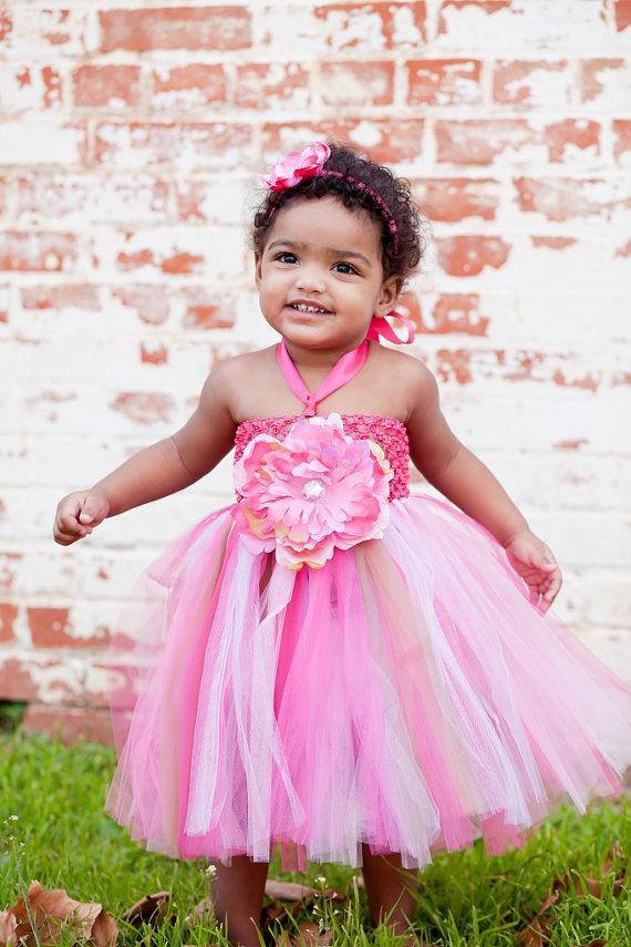 Wedding - Baby Tutu, Tutu- Girls Tutu- Tutu Dress- Flower Girl Dress- Infant Tutu- Photo Prop- Available In Size 0-24 Months.