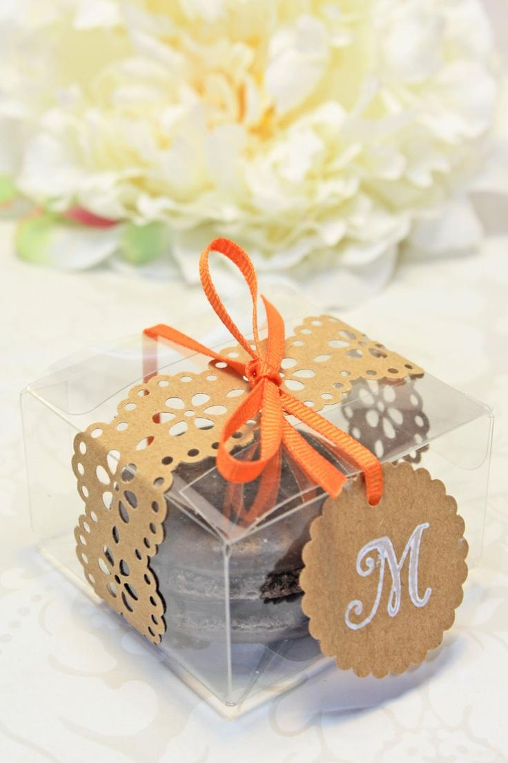 Shower Favors French Macaron Favor Boxes Set Of 30 Favor Boxes
