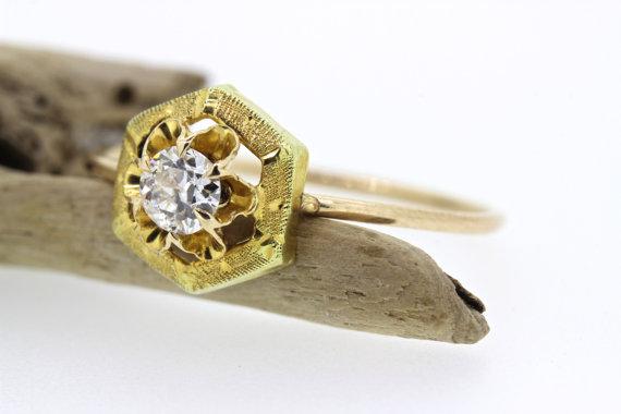 Свадьба - Antique Engagement Ring
