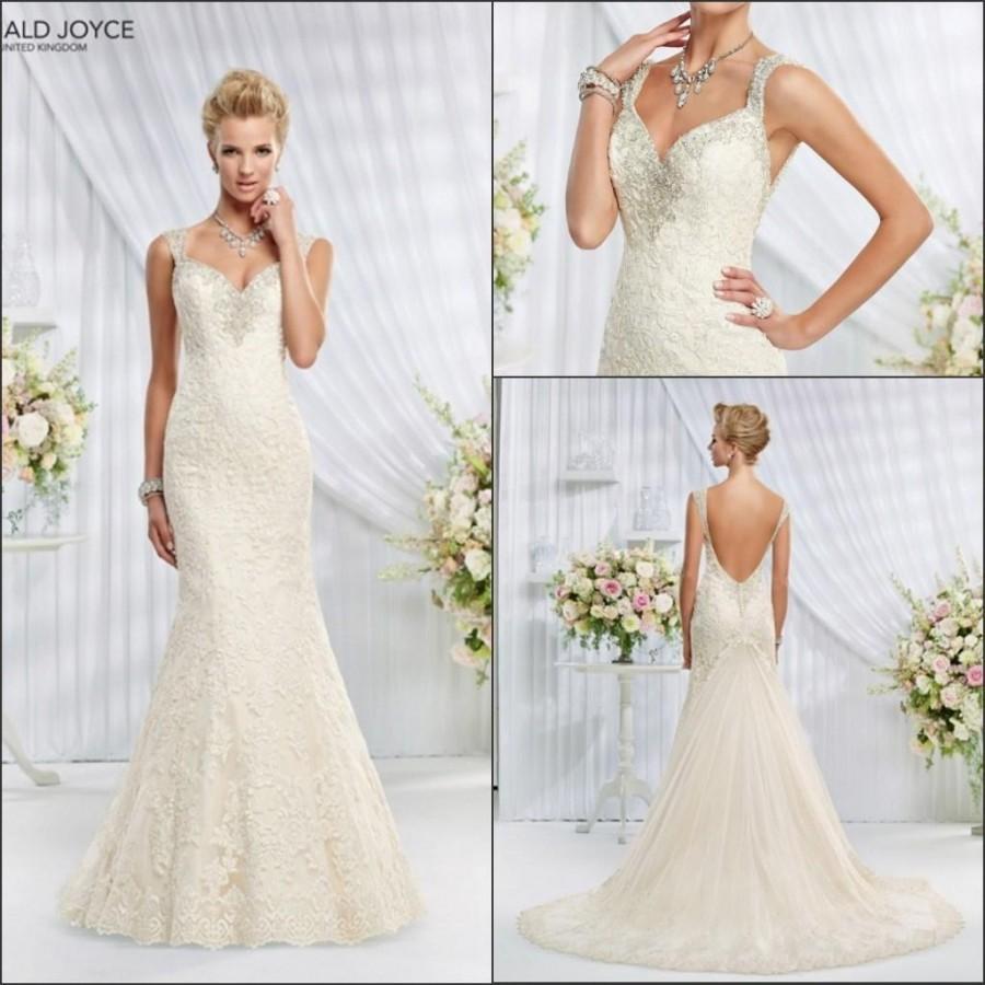 Veni infantino 2015 mermaid backless wedding dresses with for Backless wedding dresses online