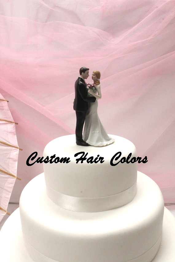 Personalized Wedding Cake Topper - Funny Bride And Groom - Cheeky ...