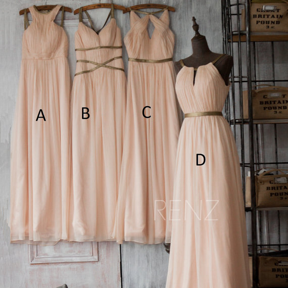 Mariage - Mix and Match Bridesmaid dress, Wedding dress, Party dress, Formal dress, Prom Dress (F062~66)
