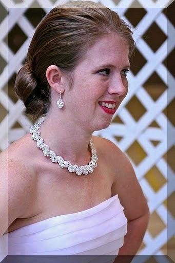 Wedding - Wedding Bridal Pearl Necklace - Beaded Pearl Necklace, Double Sided 2 in1 Bridal Pearl Necklace, Wedding Necklace, Wedding Jewelry