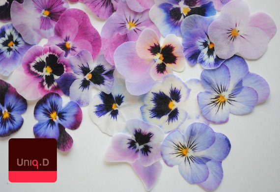 45 lilac blush edible pansy flowers purple edible flowers purple 45 lilac blush edible pansy flowers purple edible flowers purple wedding cake toppers edible cupcake toppers by uniqdots on etsy mightylinksfo