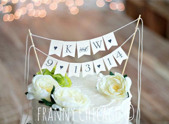 Свадьба - ENGAGEMENT CAKE - WEDDING Cake Topper