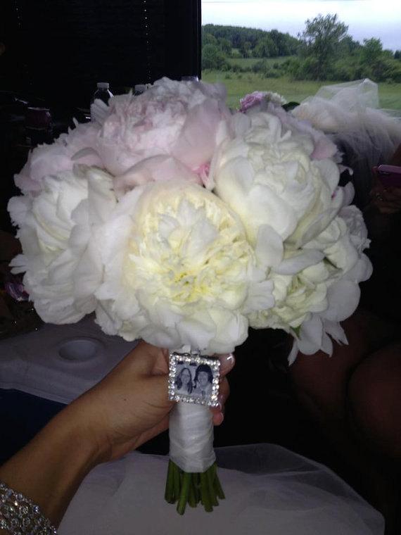 Свадьба - Rhinestone Wedding Bouquet Charm