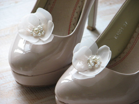 Wedding Shoe Clips Champagne Shoe Clips Champagne Wedding Shoes Champagne Shoes Cream Wedding