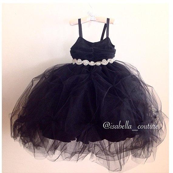Mariage - Flower Girl Dress - Audrey Hepburn Dress - Big Bow Dress - CAPRI DRESS (SHORT) - Wedding Dress by Isabella Couture