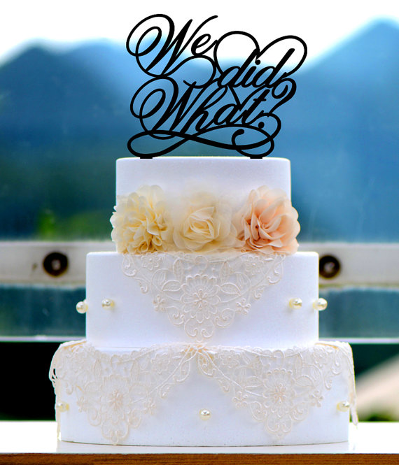 Свадьба - Wedding Cake Topper Monogram Mr and Mrs cake Topper Design Personalized with YOUR Last Name 027