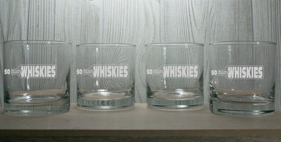 Свадьба - Whiskey Glasses - Personalized 10.25 oz Rocks Glasses - Perfect Birthdays, Bachelor Parties, Groomsmen Glasses,  Gifts for the Man Cave