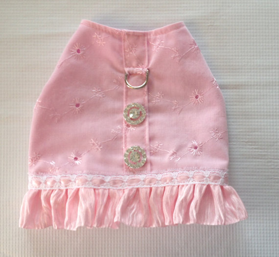 Свадьба - Easter Dog Harness Pet Cat or Puppy wedding clothes