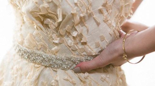 Mariage - Wedding Belt Sash,Bridal Sash,Best seller sash ,Rhinestone Crystal Sash,Swarovski beaded sash,Silver Sash