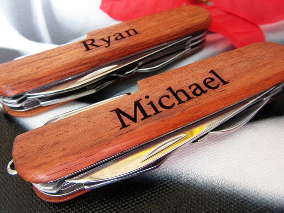 Wedding - Groomsmen Gift Knife