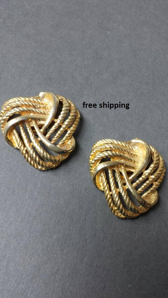 Свадьба - Shoe Clips Woven Gold Party ready for your shoes
