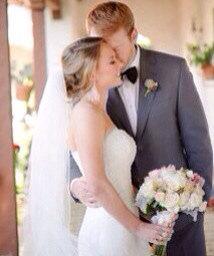 Mariage - Wedding veil fingertip length veil