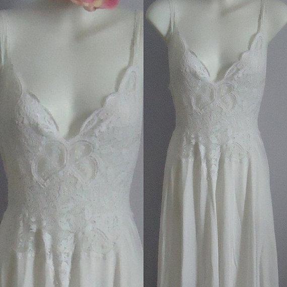 Rare Vintage Nightgown, Vintage Nightgowns, 1980s Olga, 1980s ...