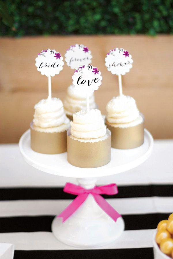 Hochzeit - Fresh & Gorgeous Garden Party Bridal Shower