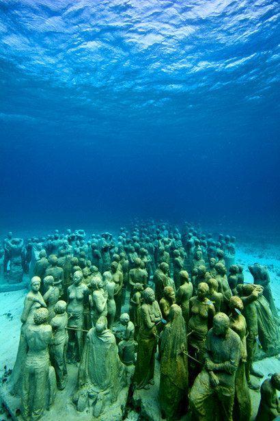 Boda - Offbeat Traveler: The Cancun Underwater Museum
