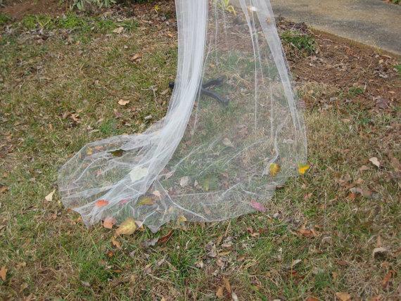 Hochzeit - Woodland Wedding Fall Leaf Veil on sale