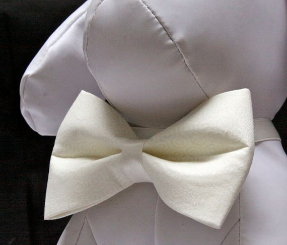 Свадьба - Wedding Bow Tie for Dog Collar