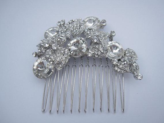 Свадьба - Bridal hair comb bridal hair accessories bridal comb bridal hair jewelry bridal headpiece bridal accessories bridal jewelry wedding haircomb