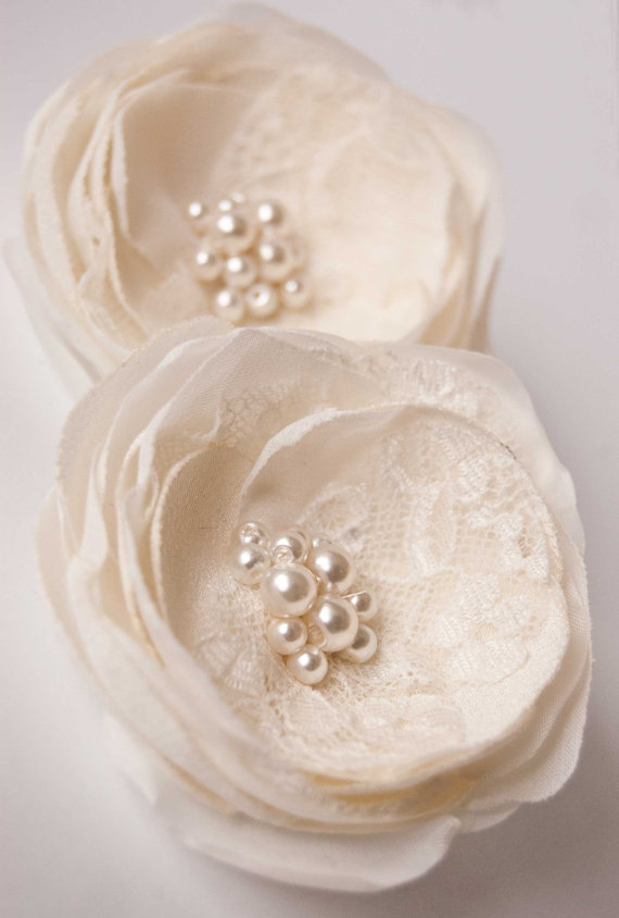 Wedding - Wedding hair accessory, Ivory wedding hair flowers, Wedding hair piece,  Bridal hair accessories, Bridesmaids hair