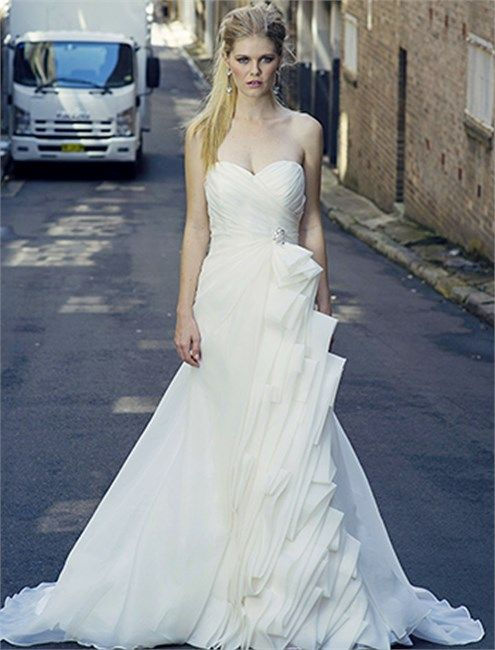 Mariage - Strapless Wedding Dress Inspiration