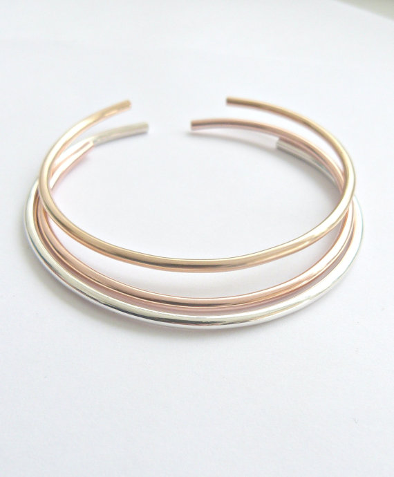 satin brushed products boing cuff thick bangle bangles item bracelet silver by sha