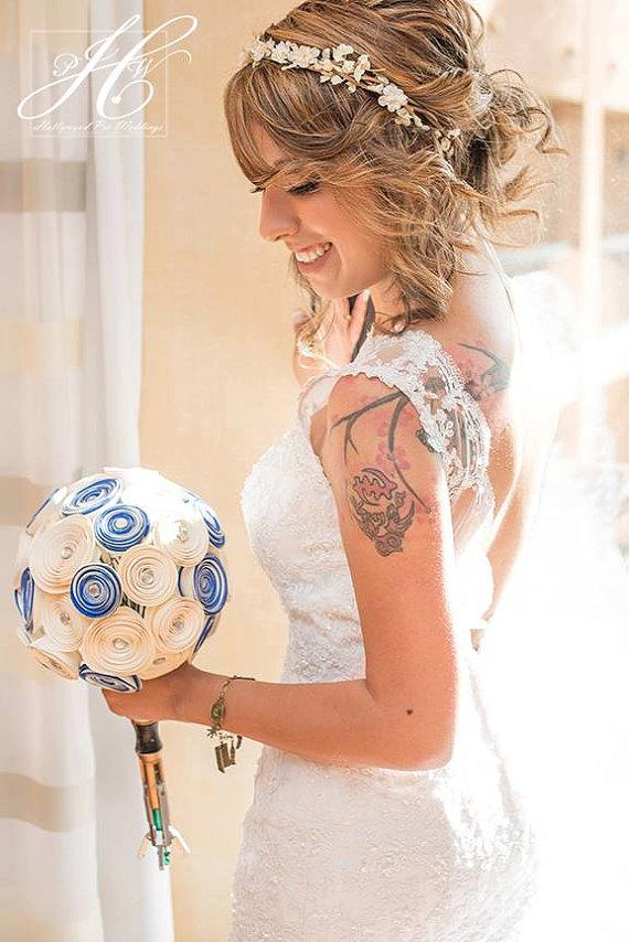Hochzeit - wedding accessories, bridal headpiece, wedding flower crown, ivory Flower crown, rustic head wreath, wedding headband, bridal hair