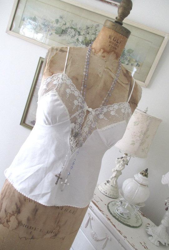 زفاف - Vintage Camisole * Lord & Taylor * Lingerie