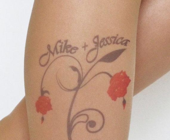 Mariage - Custom Name Tights , Bridal Wedding Lingerie , Bridal Pantyhose , Wedding Accessories