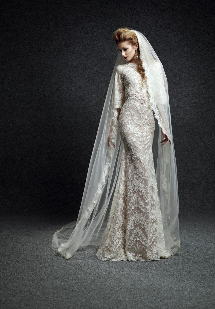 Свадьба - Ersa Atelier Wedding Dresses 2015 Fall