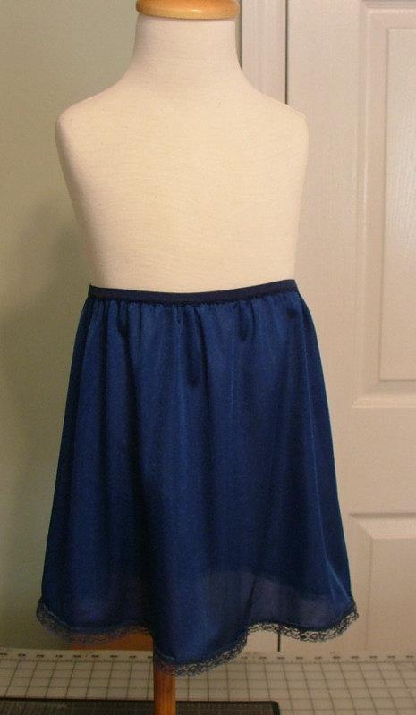 3c89e931167 TUTU Slip - Size 2t-4t NAVY BLUE - Tutu Dress Half Slip Little Girls Slip  Lingerie