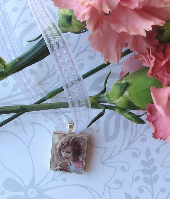 زفاف - Bride Bouquet Customized Photo Charm Wedding Memorial