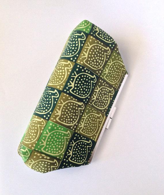 Mariage - African Print Clutch, Frame Clutch, Frame purse, Bridesmaid purse, bridal clutch, wedding clutch, african bag, clutch bag, clutch purse