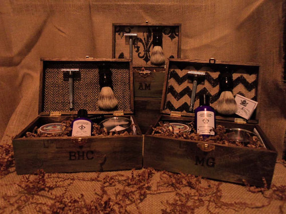 Wedding Gifts Best Man: Groomsmen Gifts Vintage Shave Kits