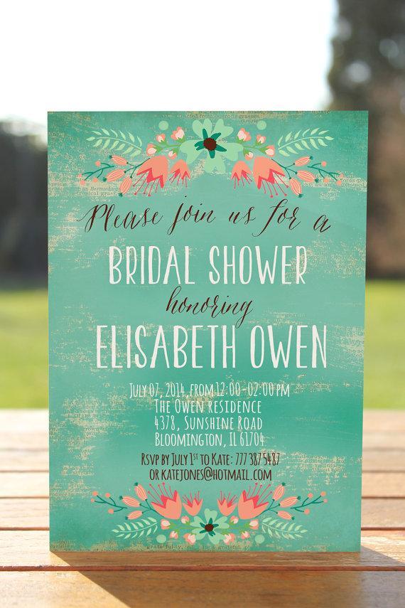 Wedding - Rustic bridal shower invite, printable bridal shower invites printable, bridal invitation, bridal shower, Wedding Shower, Lingerie Party