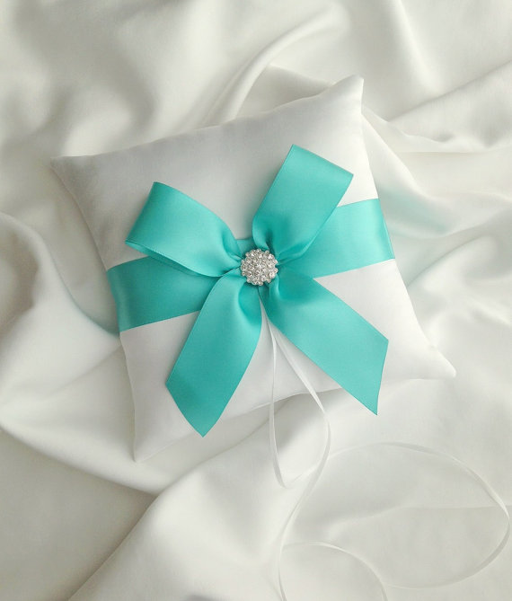 Blue And White Napkin Rings