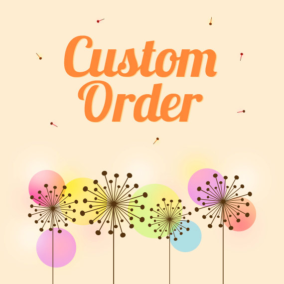 Mariage - Custom Order for Polly West only